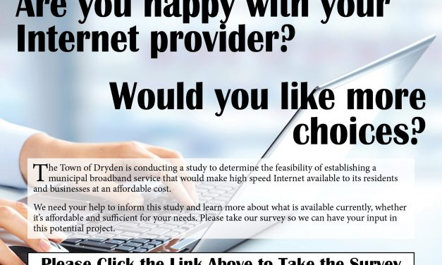 Your Input is NEEDED! Are You Happy with Your Internet? Public Broadband Study